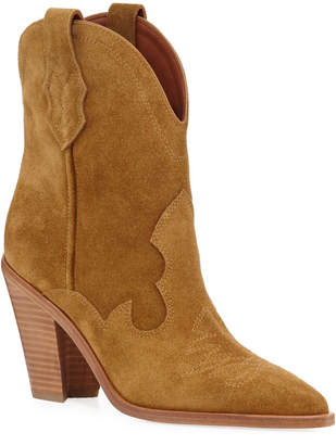 Sigerson Morrison Kalila Suede Pull-On Boots