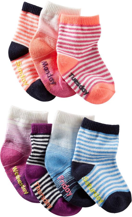 Osh Kosh 7-Pack Socks