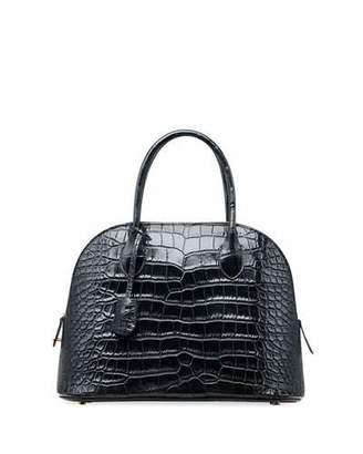 The Row Lady Alligator Top Handle Bag