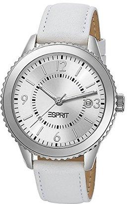 ESPRIT Women's ES105142002 Marin Eclipse White Analog Watch $64.70 thestylecure.com