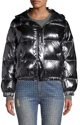 Alice + Olivia Durham Hooded Puffer Jacket