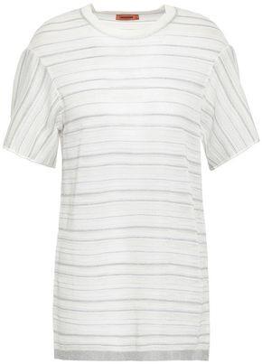 d96eb197b3c0da Green And White Striped Shirt Womens - ShopStyle UK