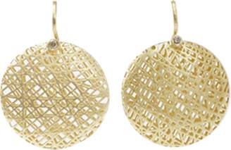 Yossi Harari Medium Lace Earrings