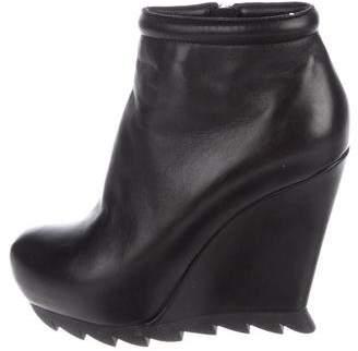 Camilla Skovgaard Leather Wedge Boots