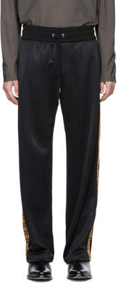 Versace Black Side Print Lounge Pants
