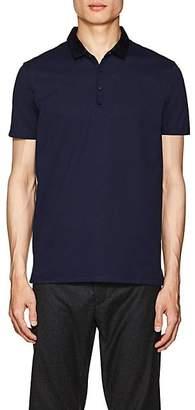 Lanvin Men's Cotton Piqué Polo Shirt - Blue