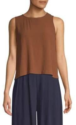 Eileen Fisher Silk Shell Top