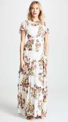 Needle & Thread Venetian Metallic Gown