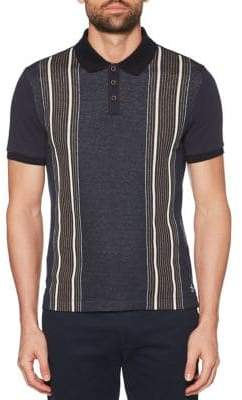 Original Penguin Vertical Striped Polo Shirt