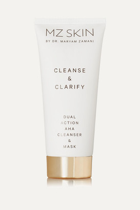 MZ Skin - Cleanse & Clarify Dual Action Aha Cleanser & Mask, 100ml - one size