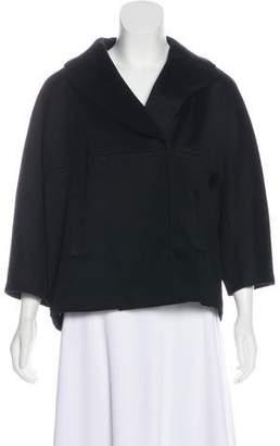 Les Copains Virgin Wool Notch-Lapel Jacket