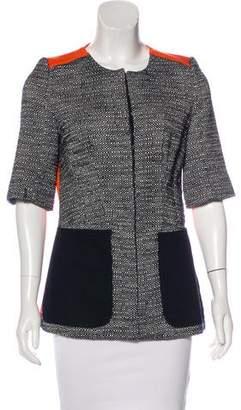 Victoria Beckham Structured Short Sleeve Jacket