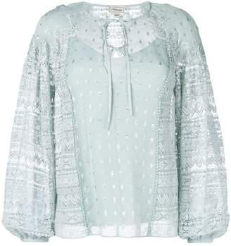 Temperley London Wondering lace-detail blouse