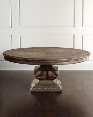 """Hooker Furniture Donabella 72"""" Round Dining Table"""