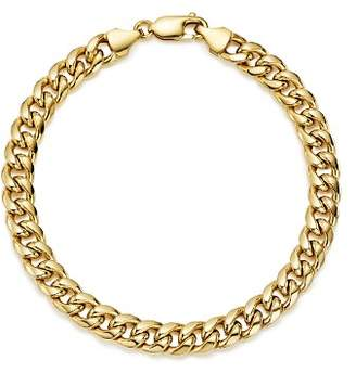 Bloomingdale's Men's Classic Chain Bracelet in 14K Yellow Gold - 100% Exclusive