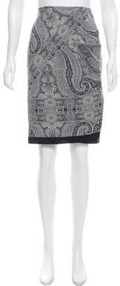 Pauw Paisley Printed Wrap Skirt w/ Tags
