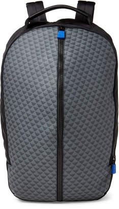 Emporio Armani Black & Grey Logo Laptop Backpack