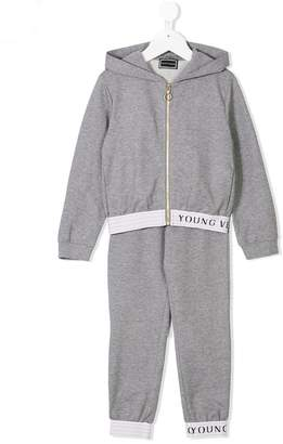 Versace (ヴェルサーチ) - Young Versace ロゴパーカー&スウェットパンツ