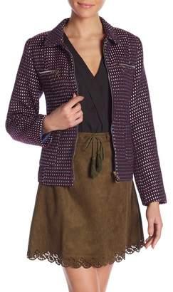 Molly Bracken Patterned Woven Jacket