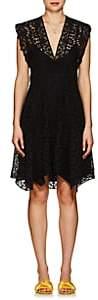 Isabel Marant Women's Kierra Eyelet A-Line Dress - Black