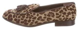 Trademark Canvas Printed Loafers