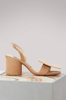 Jacquemus Rond Carre heeled sandals