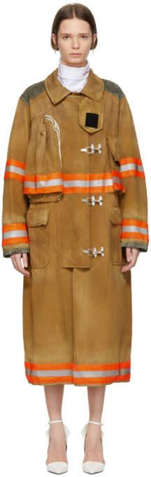 Brown Fireman Coat