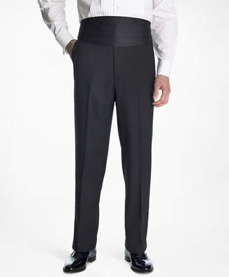 Brooks Brothers 1818 Plain-Front Tuxedo Trousers