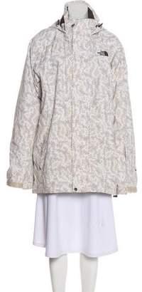 The North Face Geometric Print Short Coat