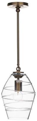 Juliska Amalia Diamond Brass Pendant