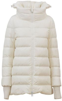 Herno White Quilted Jacket