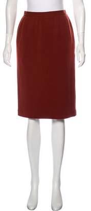 Saint Laurent Vintage Pencil Skirt