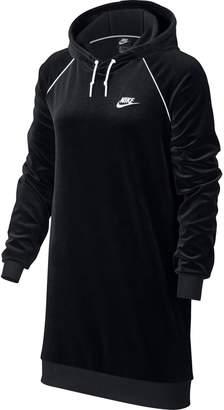 Nike NSW Hooded Velour Dress