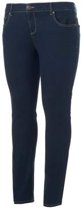So Low So Juniors' Plus Size Rise Skinny Jeans