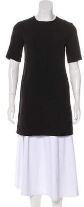 Lela Rose Short Sleeve A-Line Tunic
