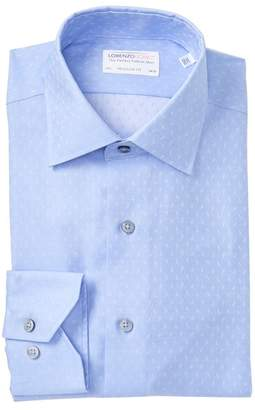 Lorenzo Uomo Open Paisley Regular Fit Dress Shirt