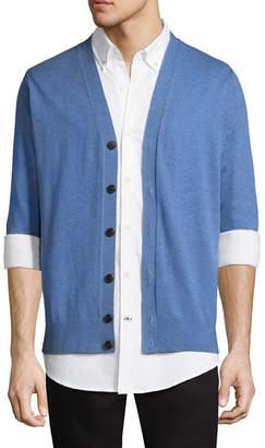 ST. JOHN'S BAY Y Neck Long Sleeve Cardigan
