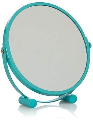 George Home Blue Metal Mirror