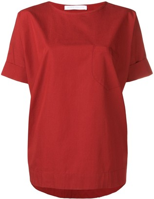 Societe Anonyme red oversized T-shirt