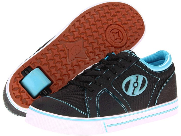 Heelys Flint (Little Kid/Big Kid/Men's) (River Blue/Black) - Footwear