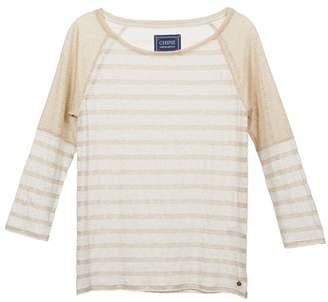 Chipie LAURA women's Sweater in Gold