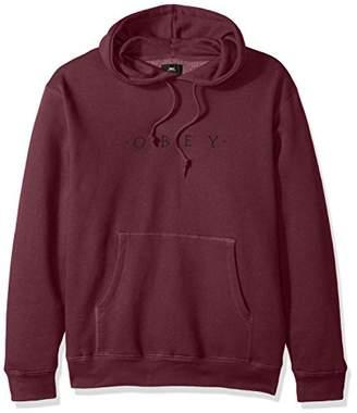 Obey Men's Distant Hooded Fleece Sweatshirt