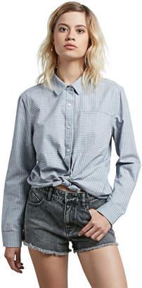 Volcom Cham Stripe Button Down Shirt