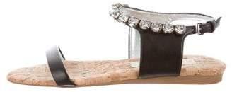 Stella McCartney Embellished Ankle Strap Sandals