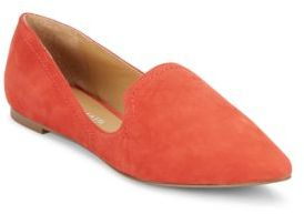 Simona Leather Low-Cut Flats $79 thestylecure.com
