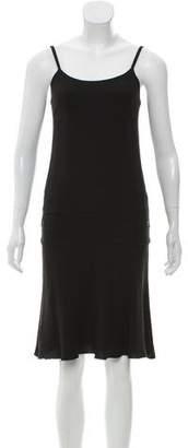 Chanel Sleeveless Crepe Dress