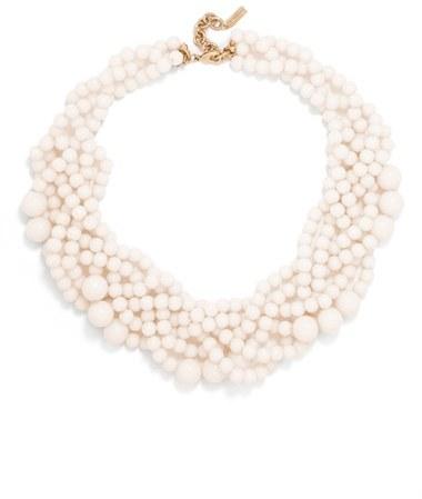 Women's Baublebar Bubblestream Imitation Pearl Necklace