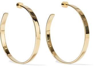 Kate Gold-plated Hoop Earrings