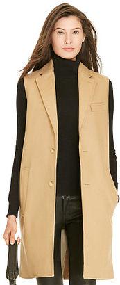 Polo Ralph Lauren Wool-Blend Vest $798 thestylecure.com