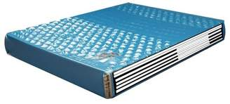"Strobel Technologies Denver Complete 4 Board Fabric Upholstered 20"" Hard-side Waterbed Mattress"